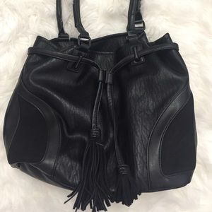 French Connection Black Hobo